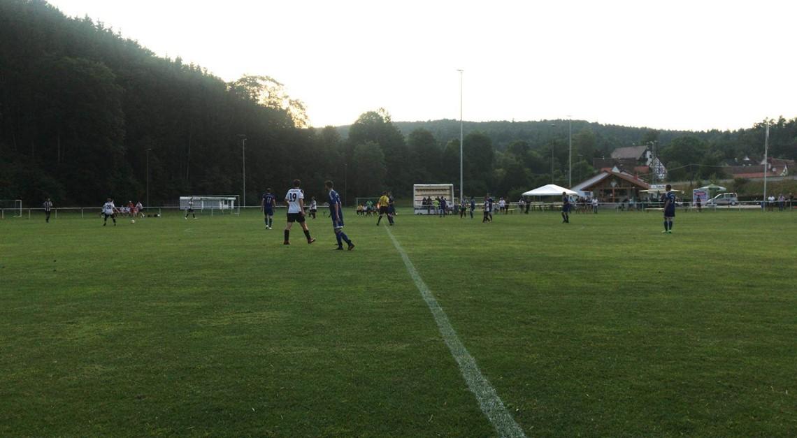 Testspielniederlage gegen den SV Sigmaringen