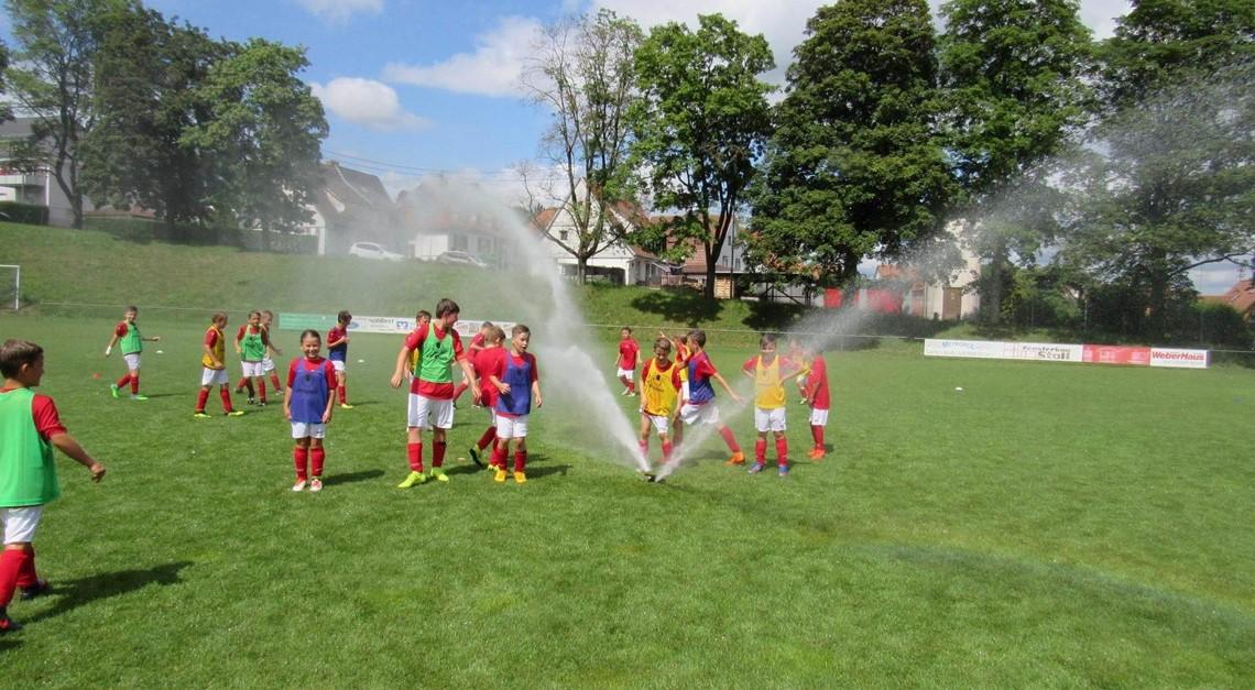 SV Meßkirch fördert Nachwuchs beim Fußball-Camp