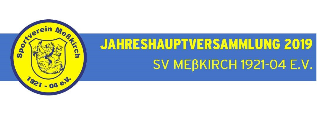 JHV 2019 - Save the Date