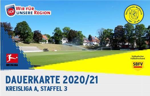 Dauerkarten Saison 2020/2021 VVK startet heute