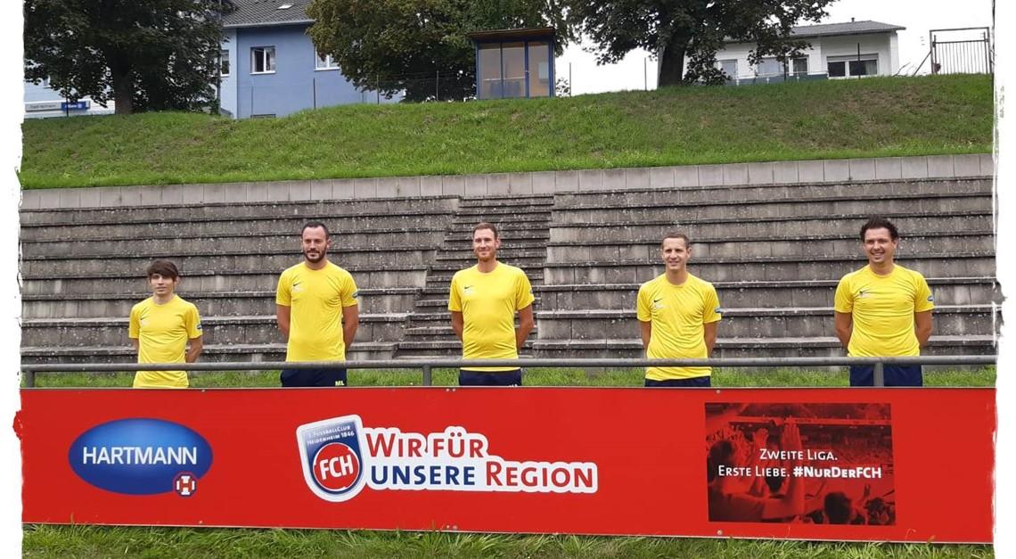 Der SVM bedankt sich beim 1. FC Heidenheim