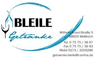 Sponsor - Getränke Bleile