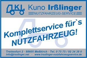 Sponsor - Kuno Irßlinger Nutzfahrzeug-Service