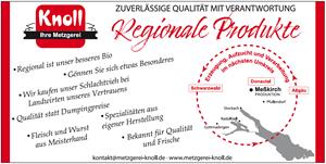 Sponsor - Metzgerei Knoll