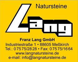 Sponsor - Natursteine Lang