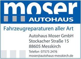 Sponsor - Autohaus Moser oHG