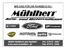 Sponsor - Autohaus Mühlherr