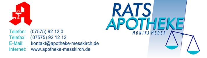 Sponsor - Rats Apotheke Meßkirch