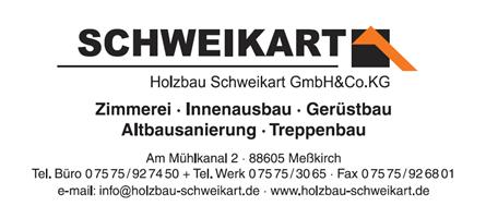 Sponsor - Holzbau Schweikart