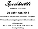 Sponsor - Speckbrettle