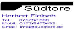Sponsor - Südtore