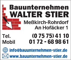 Sponsor - Bauunternehmen Walter Stier