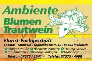 Sponsor - Ambiente Blumen Trautwein
