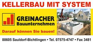 Sponsor - Bauunternehmen Greinacher