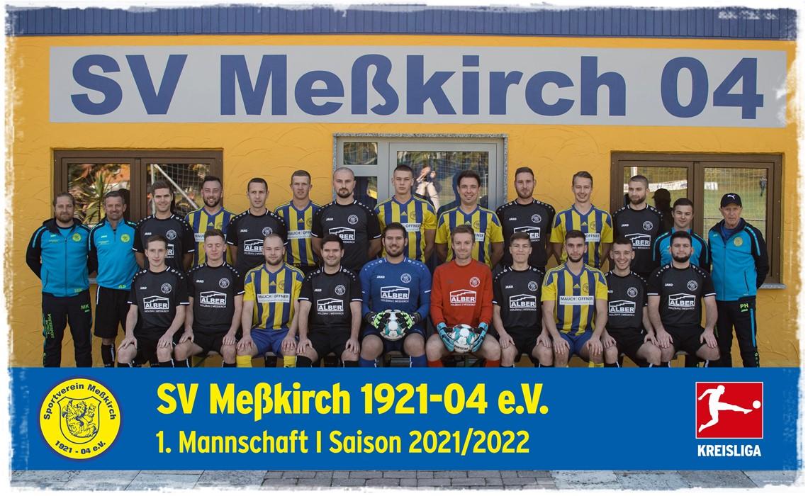 Mannschaftsfoto SV Meßkirch
