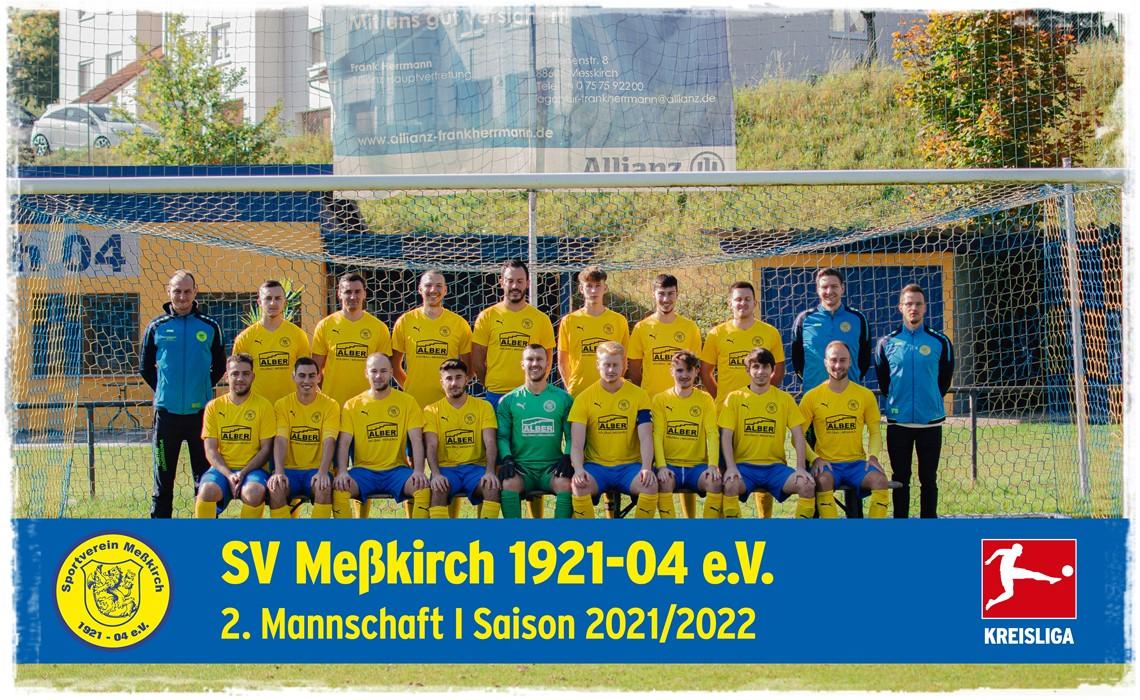 Mannschaftsfoto SV Meßkirch 2