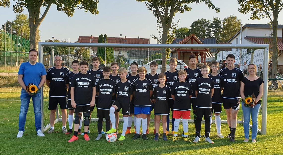 C-Jugend  Mannschaft erhält Unterstützung