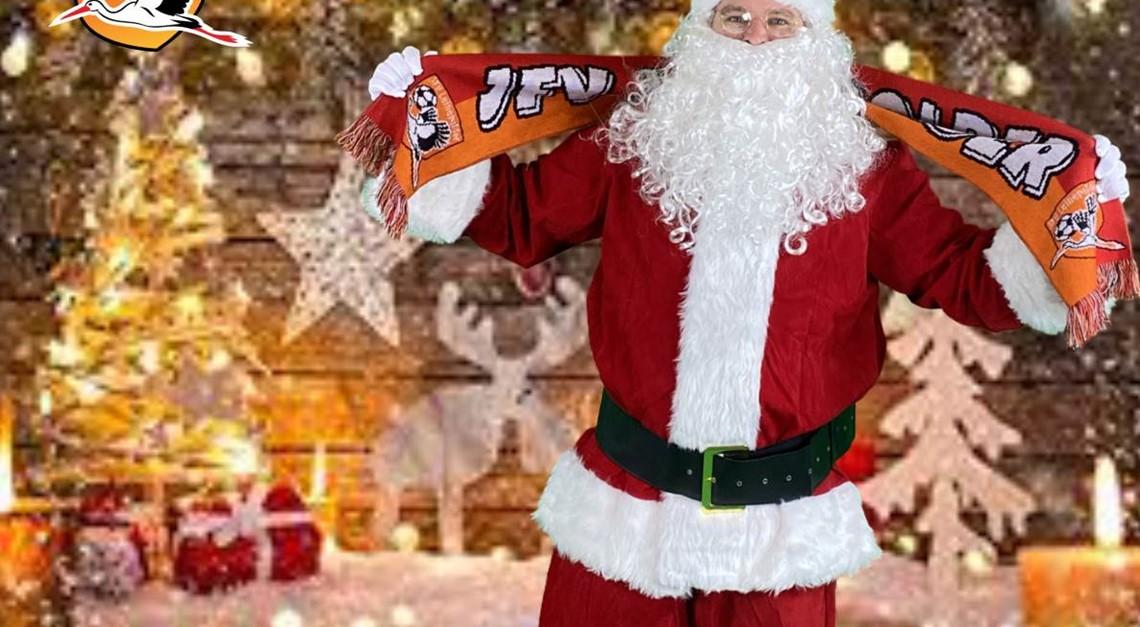 Unterwegs mit dem Weihnachtsmann