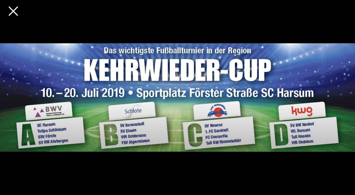 Kehrwieder-Cup 2019