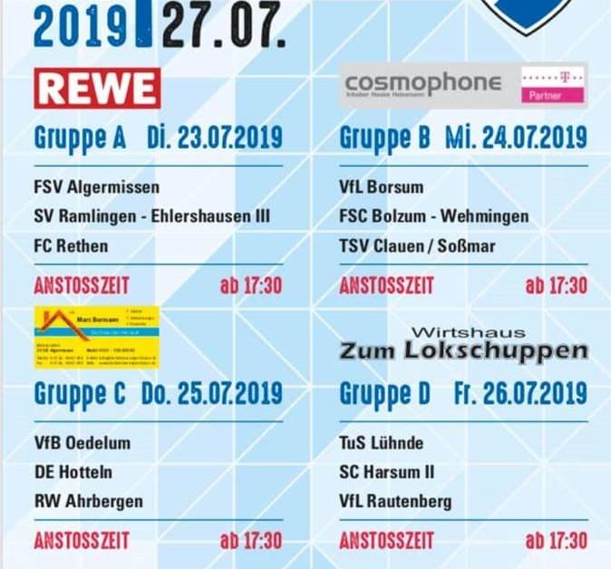Einbecker Börde Cup startet am Dienstag