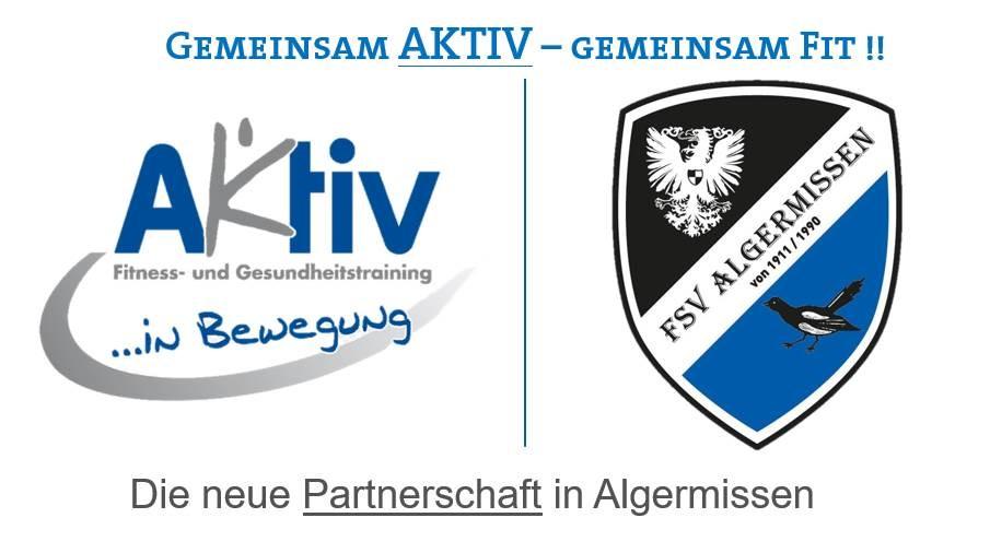Neue Partnerschaft mit dem AKTIV !!