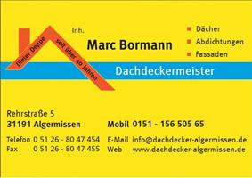 Sponsor - Bormann - Dachdeckermeisterbetrieb