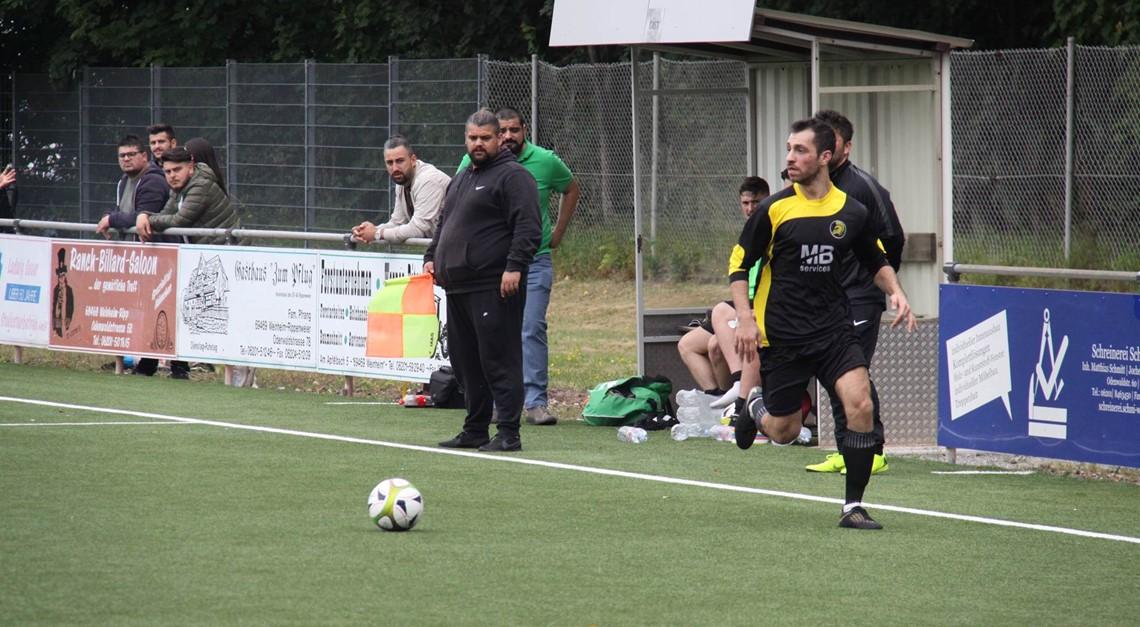 Das Team vs. FC Vikotoria 08 e.V. Neckarhausen 2