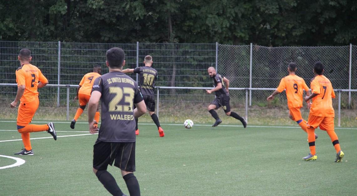 Das Team vs. VfB Gartenstadt 3