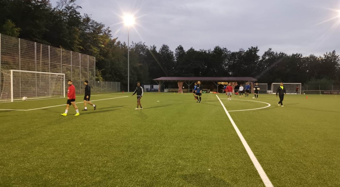 Das Team vs. SV Laudenbach