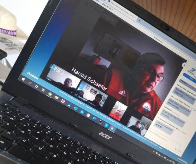 Videokonferenz Kreis Mannheim