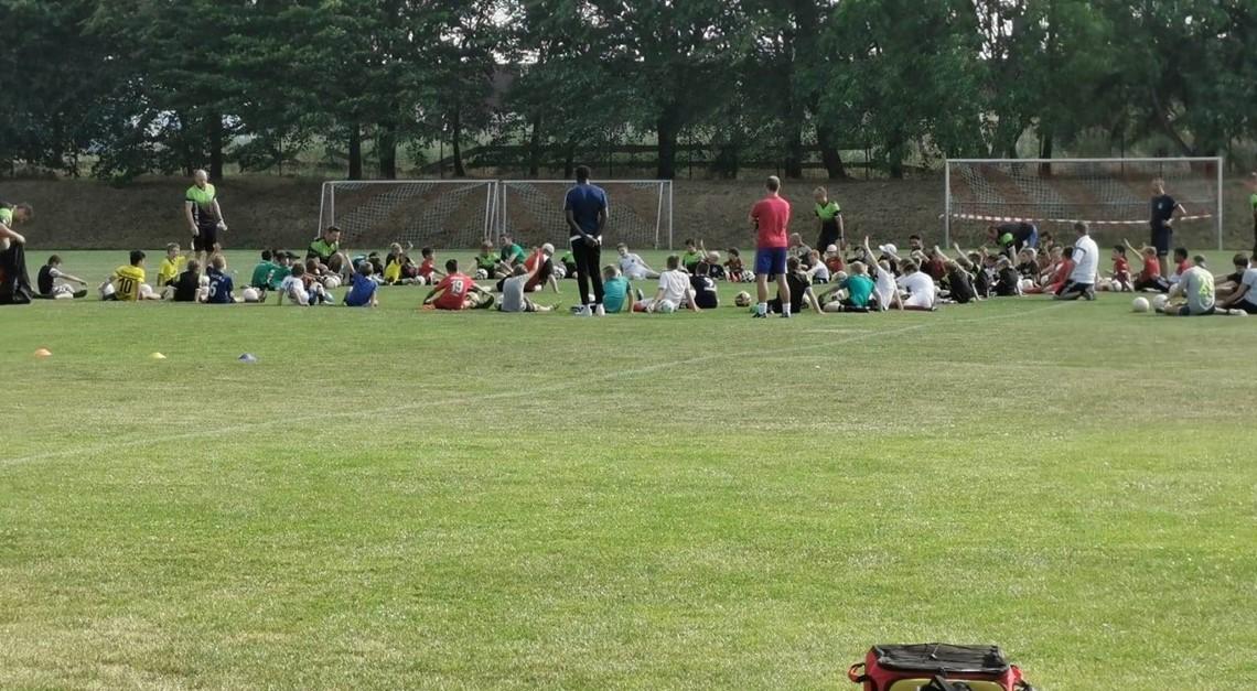 Erstes gemeinsames Training der Spielgemeinschaft