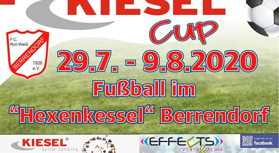 Der Kiesel Cup 2020 fällt in diesem Jahr aus!