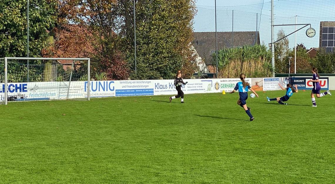 U13 unterliegt Mönninghausen im torreichen Spiel