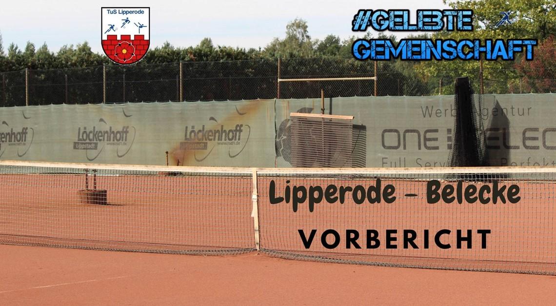 1. Saisonspiel Tennis