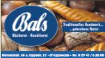 Sponsor - Bäckerei Bals