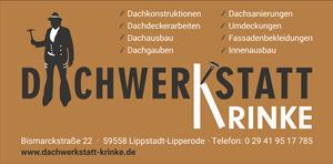 Sponsor - Dachwerkstatt Krinke