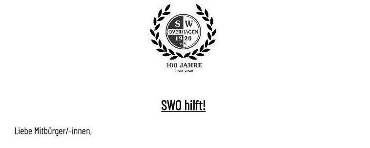 SWO hilft!