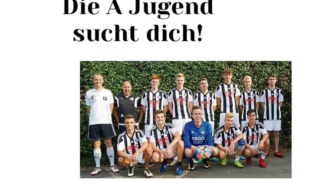Die A-Jugend von SW Overhagen sucht dich!