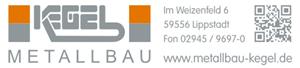 Sponsor - Kegel Metallbau GmbH