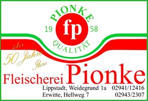 Sponsor - Fleischerei Pionke