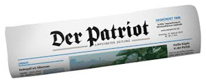 Sponsor - Zeitungsverlag Der Patriot