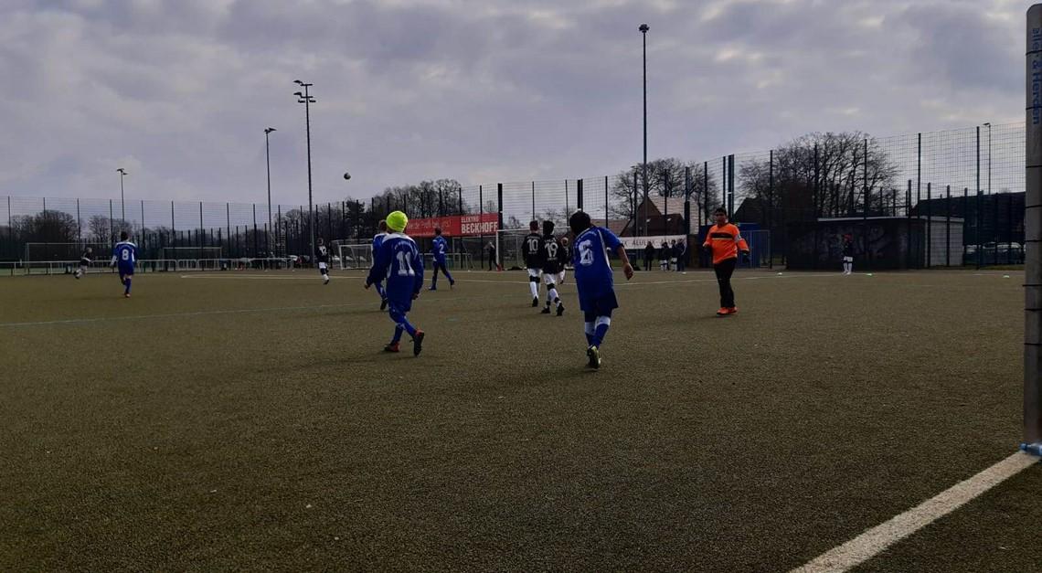 5:4 Niederlage für unsere D2-Jugend
