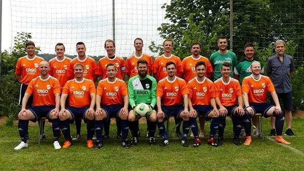 Mannschaftsfoto SG Rötsweiler-Nockenthal/?Mackenrodt