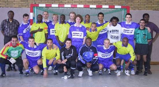 Freundschaftsspiel gegen die Nationalmannschaft von Kongo.