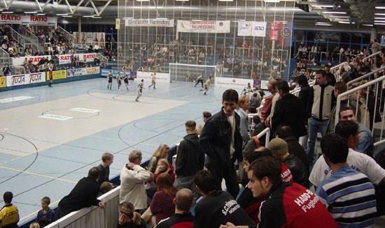 Einlagespiel gegen International Wesel e.V.