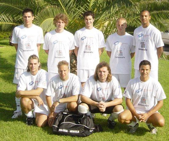 Universität Münster bei den ersten EUC Futsal 2004 Paralimni, Zypern