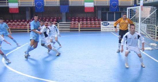 2nd European University Futsal Championship 2005 Latina, Italien