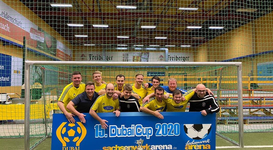 Blau-Gelb gewinnt 15. Dubai-Cup in Dresden