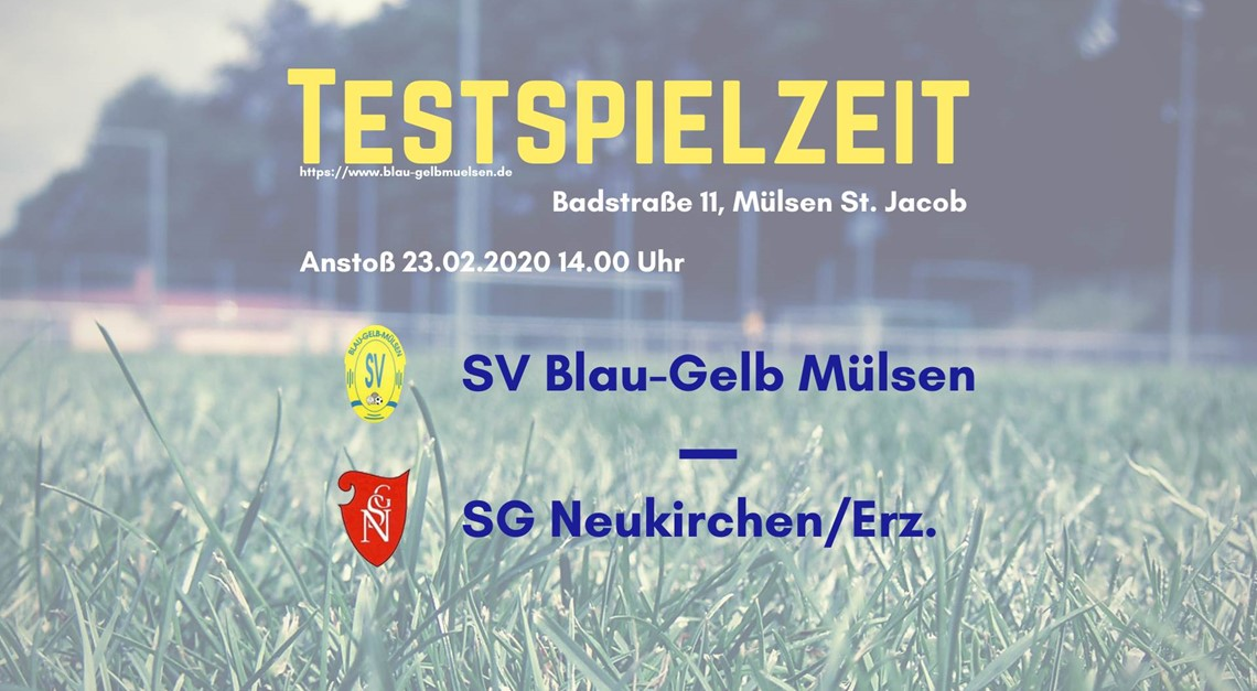 Nächster Test gegen SG Neukirchen/Erz.