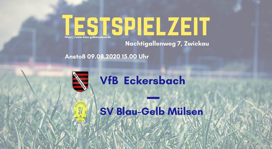 Nächster Test gegen Eckersbach